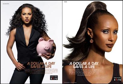 Alicia Keys and Iman Keep A Child Alive