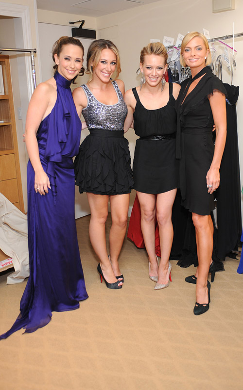 Jennifer Love Hewitt, Haylie Duff, Hilary Duff and Jamie Pressly
