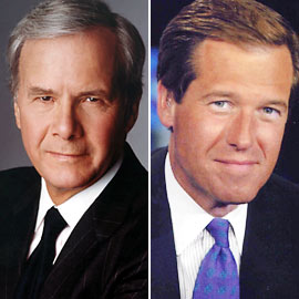Tom Brokaw and Brian Williams