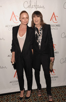 Stella McCartney and Chrissie Hynde
