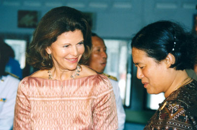 Her Majesty Queen Silvia of Sweden