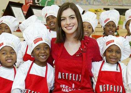 Anne Hathaway Feeding America