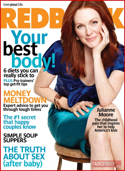 Julianne Moore Redbook Magazine Cover