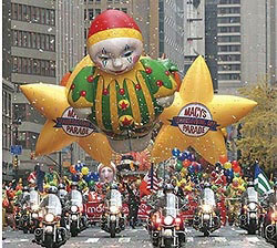 Macy's Thanksgicing Day Parade