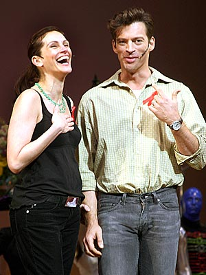 Julia Roberts and Harry Connick Jnr