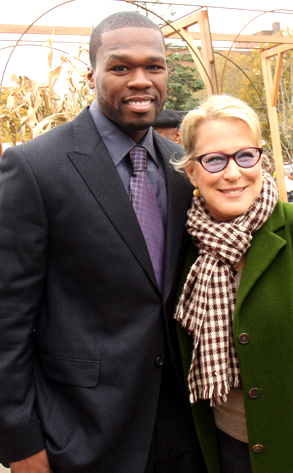 Fifty Cent and Bette Midler