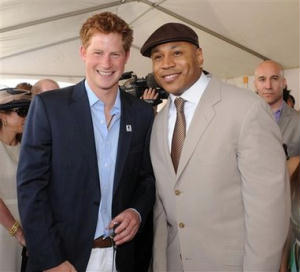 Prince Harry LL Cool J