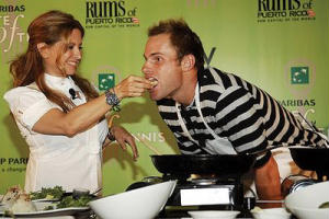 Andy Roddick Taste of Tennis