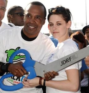 Walk to Cure Diabetes Sugar Ray Leonard Kristen Stewart