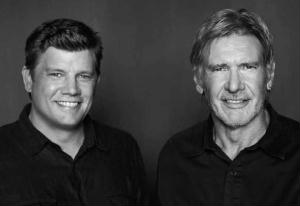 Ben and Harrison Ford