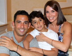 Jorge Posoda and family