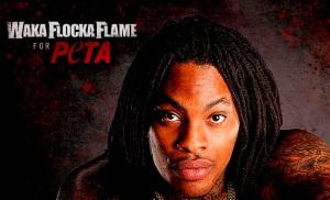 Waka Flocka Flame PETA